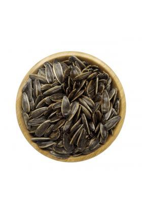 Siyah Kavrulmuş Tuzsuz Çekirdek 500 Gram